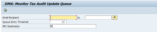 DMA SAP Queue Manager